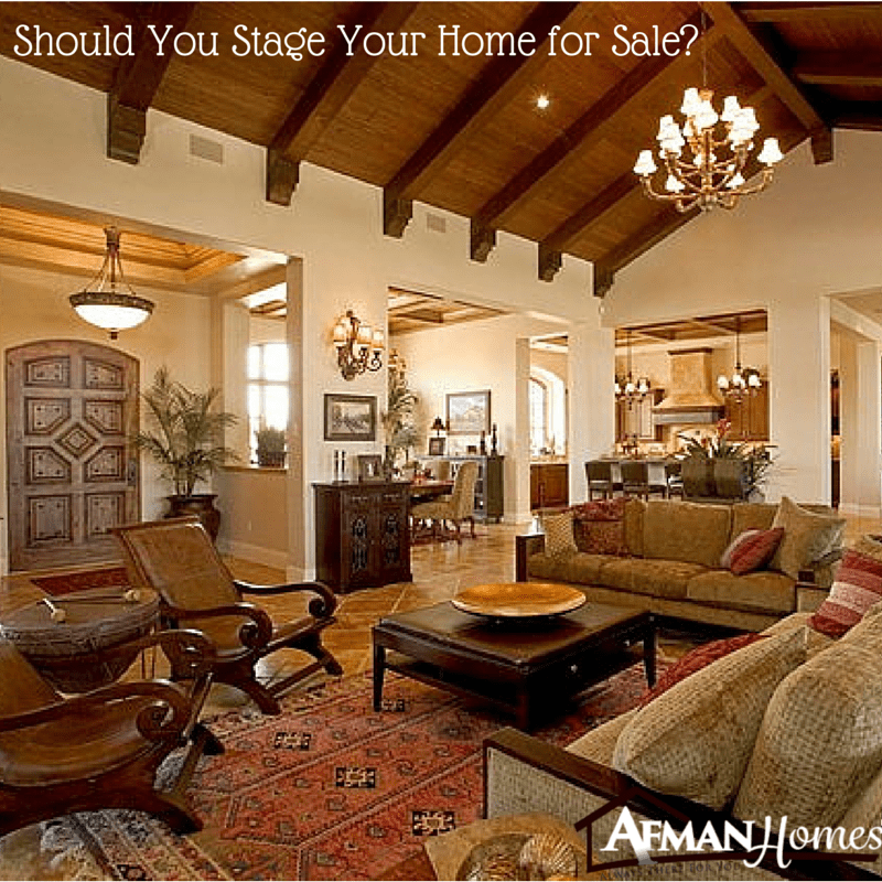 Should You Stage Your Home for Sale?