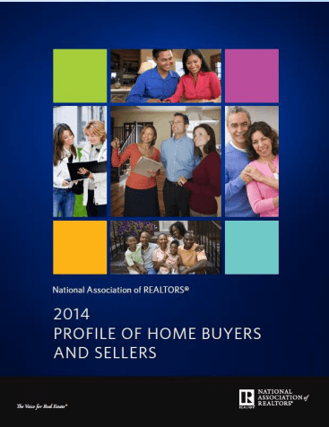 2014 Profile Of Home Buyers And Sellers